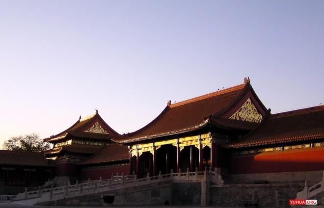 紫禁城日落 / 2005-11-07 16:39