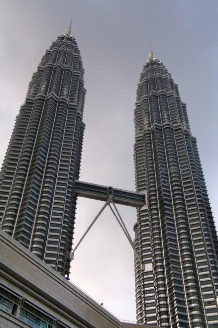 马来西亚KLCC Suria,著名的双塔 / 2008-01-20 18:48