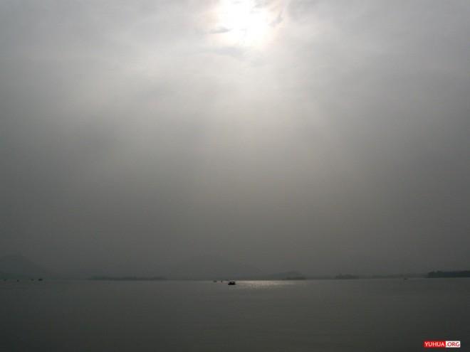 水光潋滟,泛棹西湖 / 2009-02-06 15:08