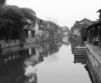 西塘 - 做成黑白照片,静静的,有点怀旧 / 2004-01-26 11:55