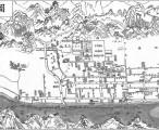 旧淳安县城图